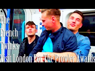 The FrenchTwinks Visit London For The Prowler Awards 2018