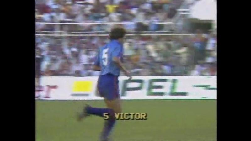 Кубок Европейских Чемпионов 198586. Барселона (Испания) - Стяуа (Румыния)