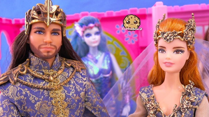 ОБЗОР кукол Barbie Faraway Forest Royal Fairy