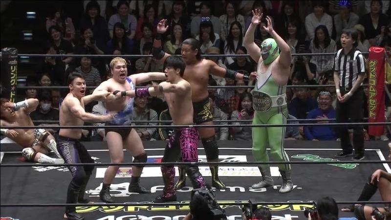 Yukio Sakaguchi, MAO, Mike Bailey, Saki Akai vs. Toru Owashi, Kazuki Hirata, Super Sasadango Machine, Antonio Honda (DDT - Max B