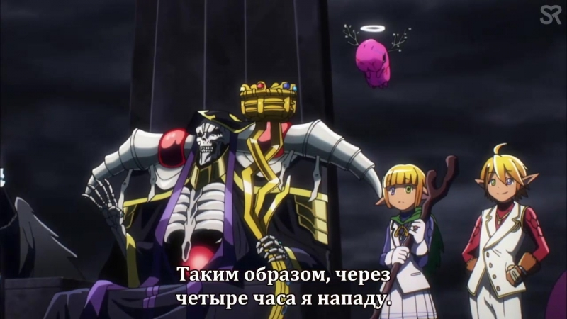 Overlord 2: episode 4. Ains Ooal Gown meets himself a Lizardmans.