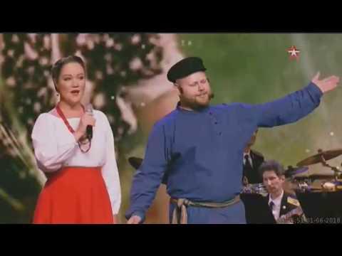 Александра Трошкова и ансамбль русской песниПоверьеШёл со службы пограничник