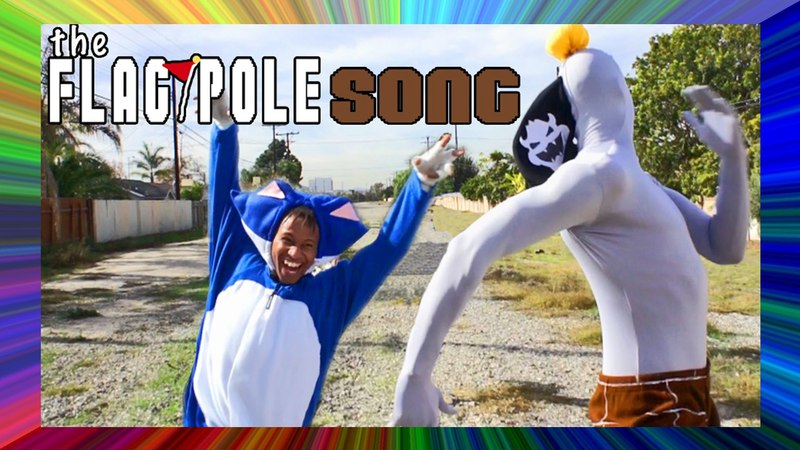 The Flag Pole Song (Mario Musical Parody FEAT. RANDOM ENCOUNTER)