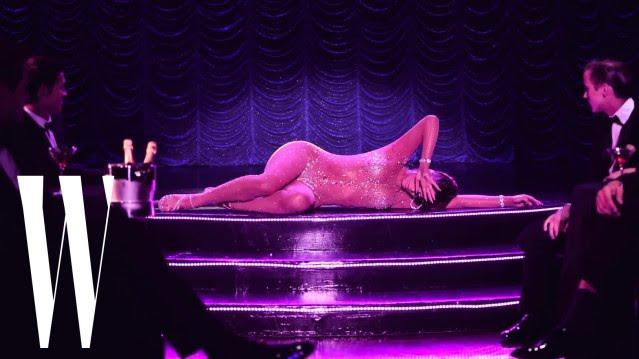 Showgirl | Starring Carmen Carrera | By Steven Meisel - W magazine