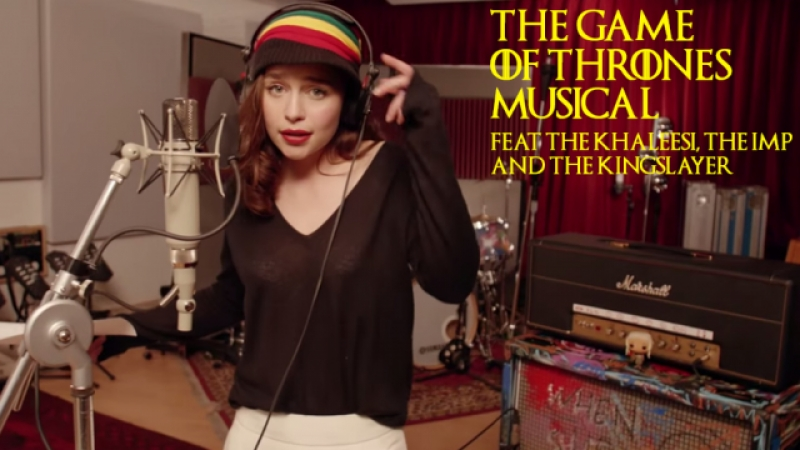 Game of Thrones - The Musical – Emilia Clarke Teaser - Red Nose Day