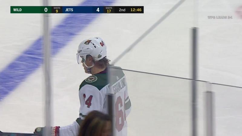 Minnesota Wild vs Winnipeg Jets 20 04 2018 Round 1 Game 5 NHL Stanley Cup Playoffs 2018