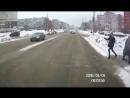 Тольятти. Два автобуса сбивают девушку
