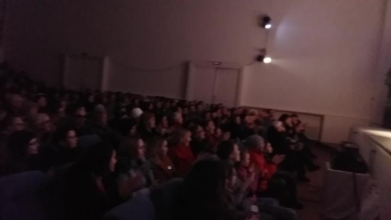 Гастроли в Олонец 18 марта 2018 . Поклоны