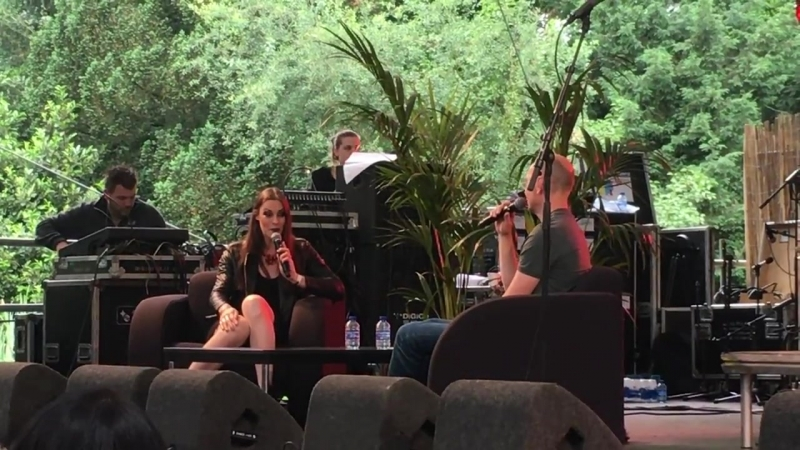 Interview Floor Jansen Nightwish Fortarock 2 June 2018