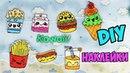 7 DIY НАКЛЕЙКИ в виде еды Рисуем сами! ЛУЧШИЙ СПОСОБ Kawaii stickers