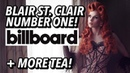 Blair St. Clair Debuts at NUMBER ONE on Billboard More TEA