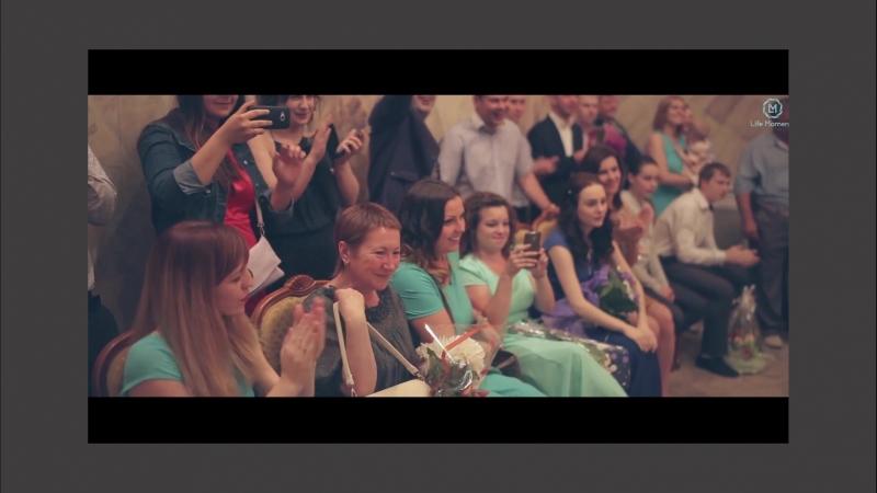 Ваше свадебное видео может быть таким! Бронирование в сообщения.