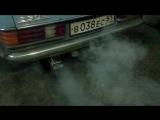 прямоточный глушитель на  Mercedes-Benz