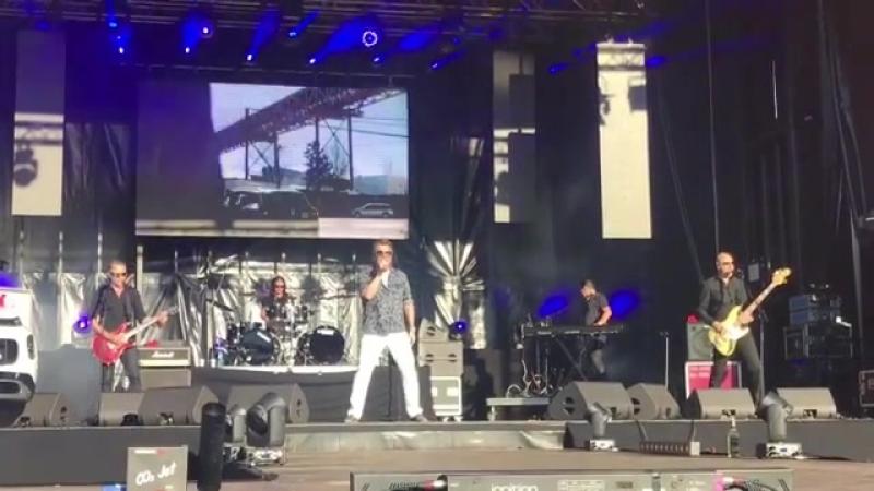 Выступление Томаса Андерса и его Modern Talking Band на музыкальном фестивале B2 Schlagerhammer в Берлине 14 07 2018