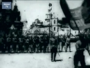 Москва,1 мая, 1924, парад войск и первых пионеров СССР, Красная площадь, кинохроника
