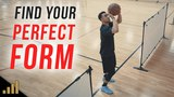 How to FIND YOUR PERFECT SHOOTING FORM AT HOME!!! Drills to Quickly Improve Your Jump Shot AT HOME!
