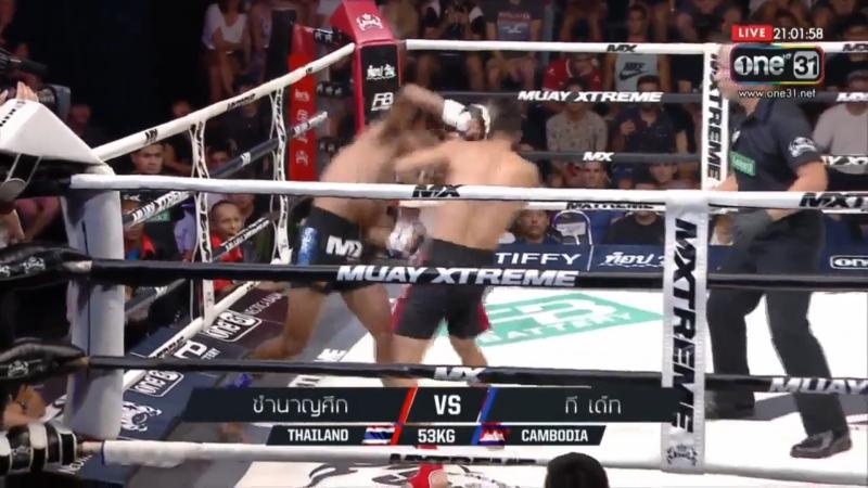 Тайланд vs Камбоджа долго не церемонились MX Muay Xtreme