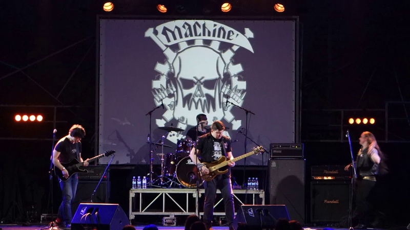 Machine Guts - In The World Of Machine (Live at Bingo club, Kiev, 16.03.2018)