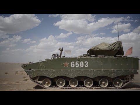 PLA Ground Force Unit Holds Anti-tank Training