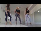 Kizomba intensive . Marina, Alina and Olya