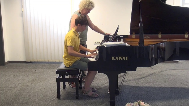 06.07.2018 Mira Marchenko's master-classes. Ivan Baskakin. Concert Hall, Trogir, Croatia