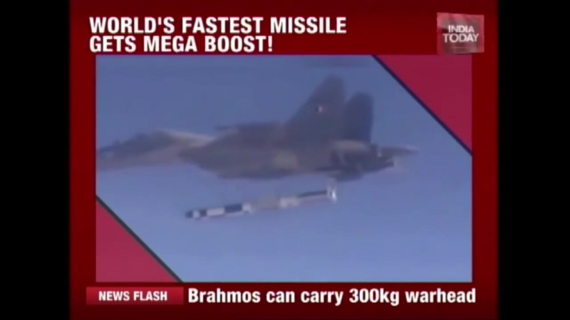 Brahmos Missile Successfully Test Fires From Sukhoi Jet
