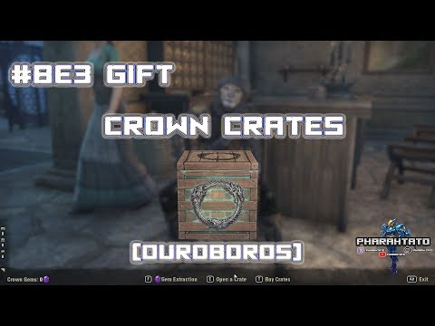BE3 Ouroboros Crown Crate Gift Opening