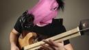 Metal riffs on one-string DJENT guitar
