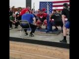 Брайан Хартсел - присед 410 кг