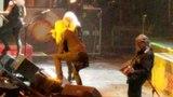 Saxon live 041718 Portland, OR - Thunderbolt