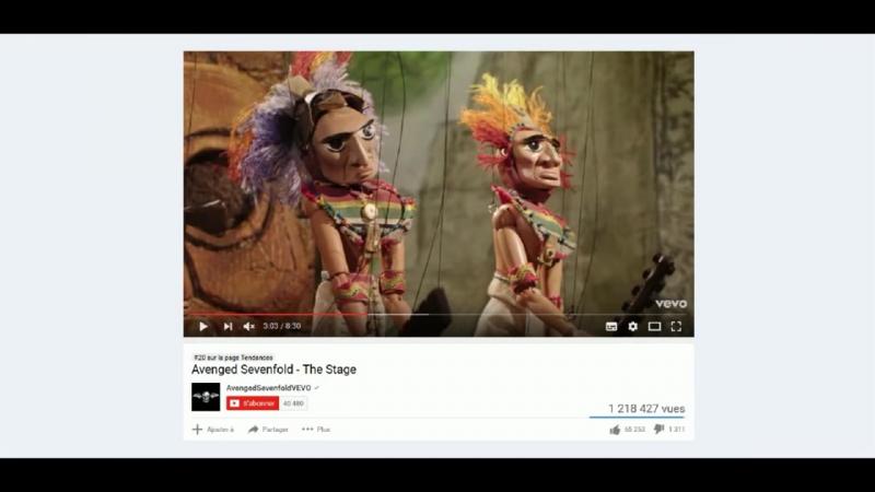 Decryptage de clips musicaux sataniques 1 - Avenged Sevenfold - The Stage