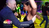 (Mobile Camera) Espen Holthe and Nishika de Rosairo Salsa Dancing at SFS 2018, Friday 23.02.2018
