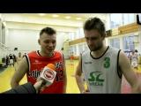 Павел Горячко и Егор Горанский в послематчевом интервью
