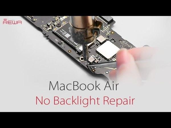 MacBook Air 2015 No Backlight Repair