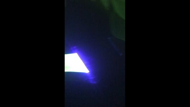 Обзор Лазера и Экрана для Шоу Световых Картин / Nova Show