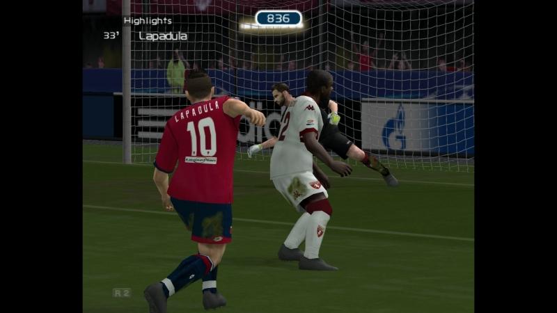 10 тур Genoa CFC 2 - 2 Torino FC