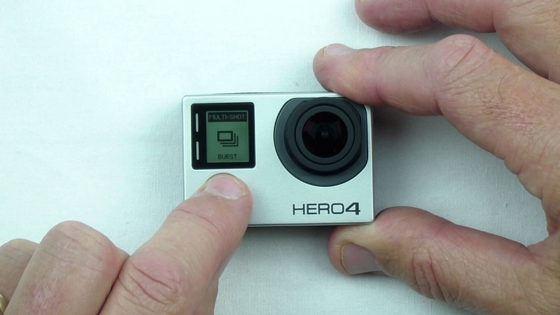 GoPro HERO4 - How to set up use Quikcapture Mode