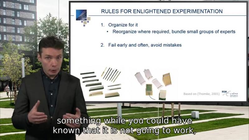 27 Managing innovation projects enlightened experimentation