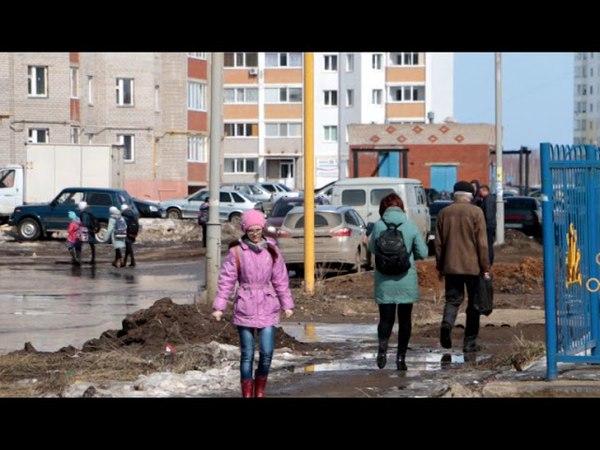 На Березовском шоссе снова забилась ливневка