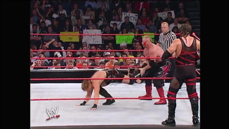 Kane Rob Van Dam vs The Legion Of Doom Raw 05.12.2003