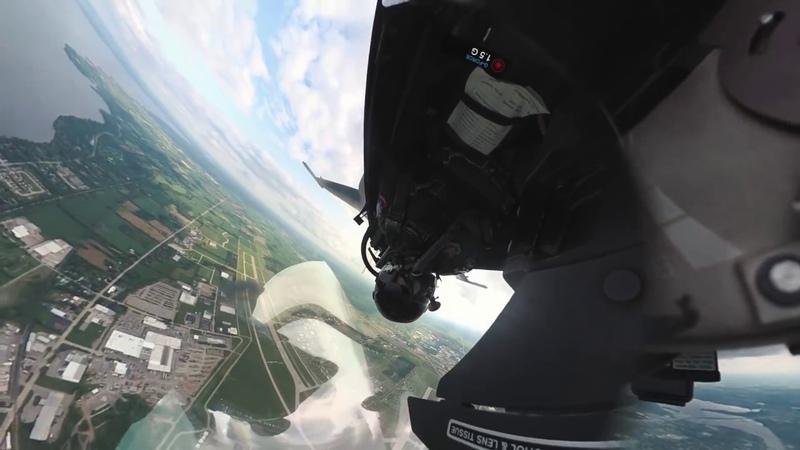 F-16 Fighter Jet - Crazy Unique Cockpit Video - Airventure 2018