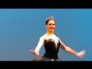 Солисты Большого театра Ю.Степанова, Д.Родькин, фрагмент Чёрное па-де-де из балета Лебединое озеро П.Чайковского, хореография М