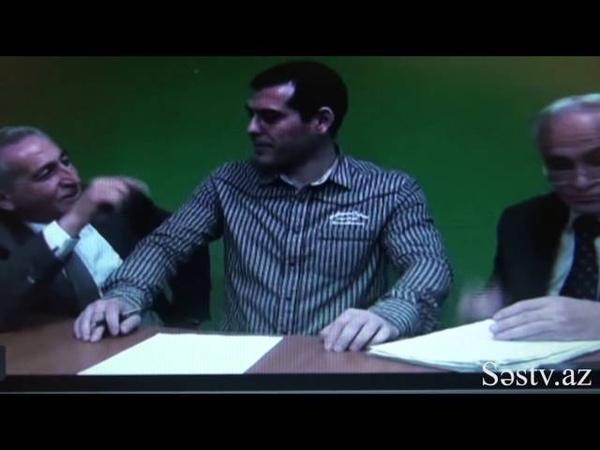 Rəhim Qazıyev və Təhmasib Novruzovdan şok görüntülər