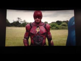 «Лига cправедливости»: Первая сцена после титров. Флэш и Супермен