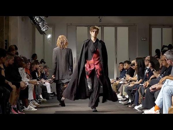 Yohji Yamamoto | Spring Summer 2019 Full Fashion Show | Menswear