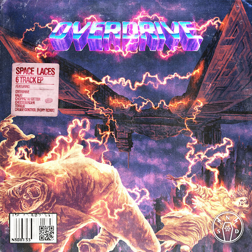 Space Laces альбом Overdrive EP