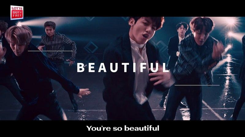 BTS - You're so Beautiful (LOTTE DUTY FREE)