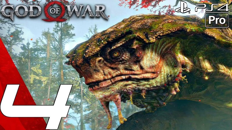 GOD OF WAR 4 Gameplay Walkthrough Part 4 Hunting Boar Mysterious Witch PS4 PRO