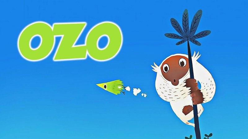 Короткометражный мультик OZO 🐵 про животных для самых маленьких детей