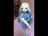 Monster High OOAK Frankie Stein by @sonia_viva_japan
